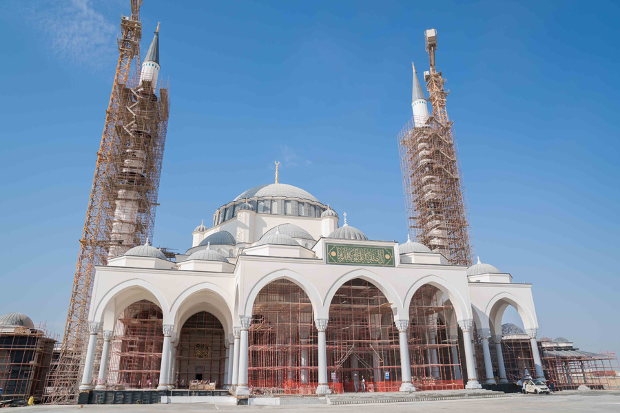 Sharjah Mosque was opened in May 2019.