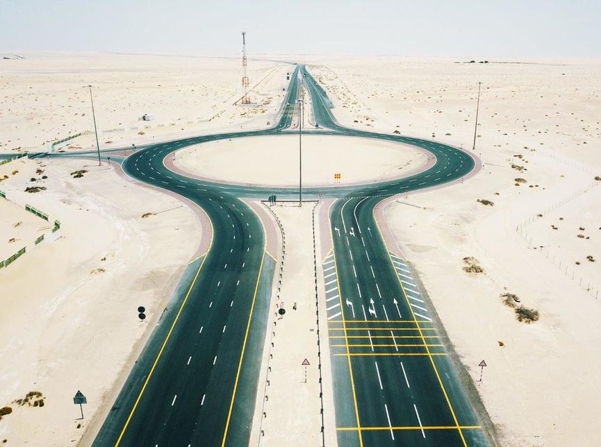 The 88km-long Al Faya – Seeh Shuaib E75 road was renovated by Musanada.