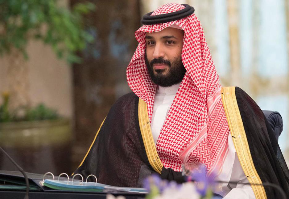 HRH Mohammed bin Salman bin Abdulaziz, the Saudi Crown Prince, Deputy Prime Minister, and Minister of Defense.