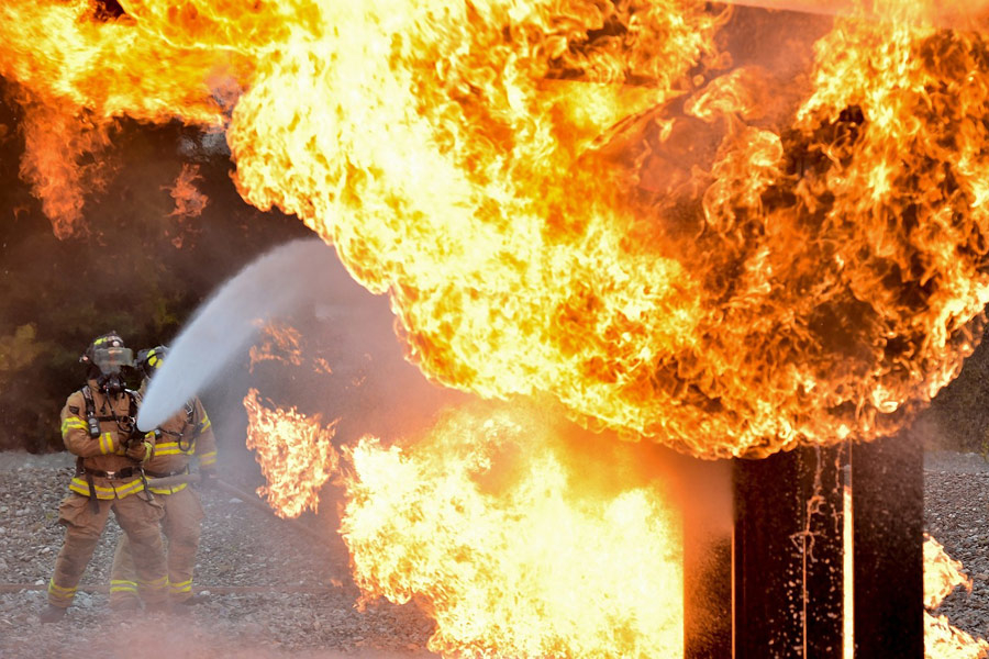 A construction site caught fire on 27 May [representational image].