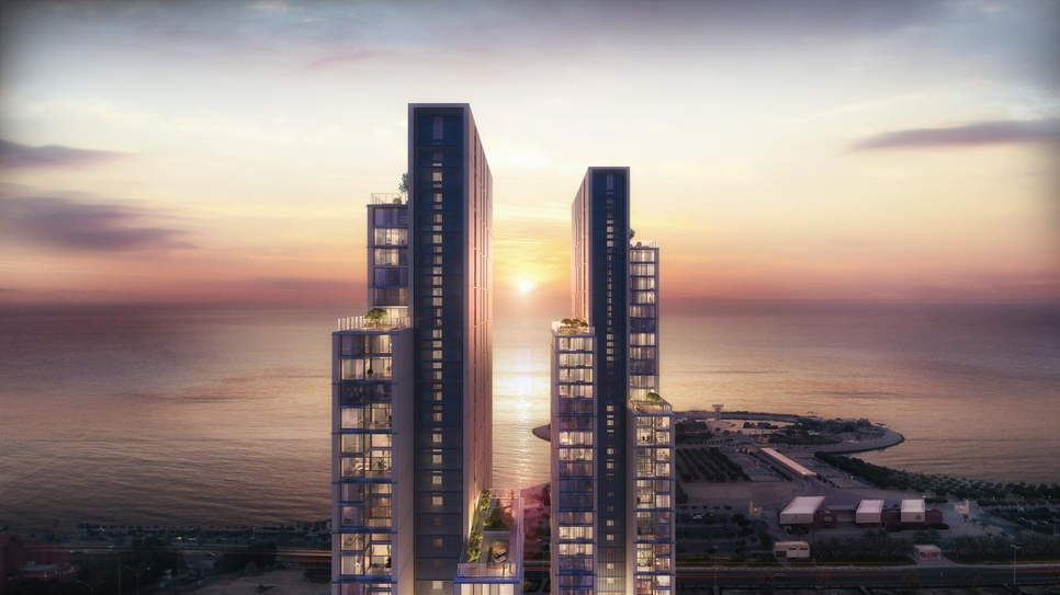 Hessa Towers is one of URC's projects.