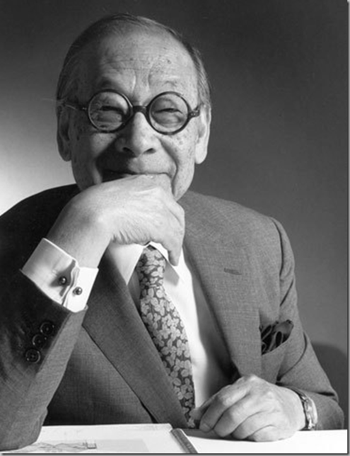 I M Pei was the grand master of modern architecture.