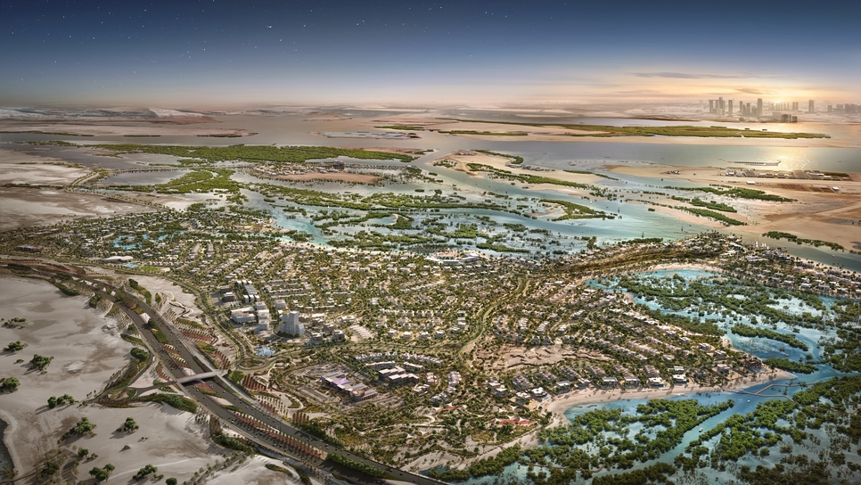 Jubail Island project will be complete in Q4 2020.