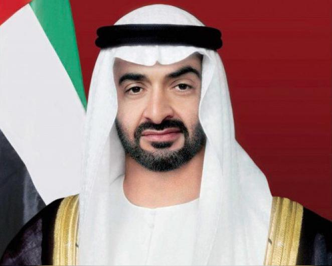 HH Sheikh Mohamed bin Zayed Al Nahyan.