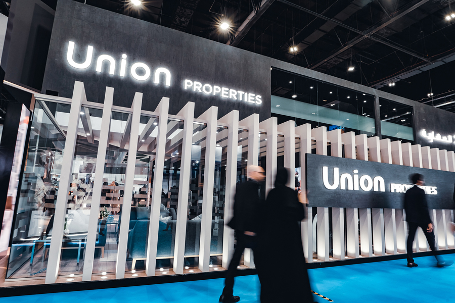 Union Properties is listed on the Dubai bourse.
