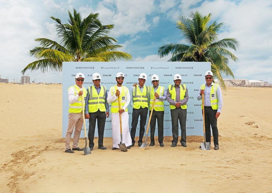 Arabian Ranches' third phase works are under way.