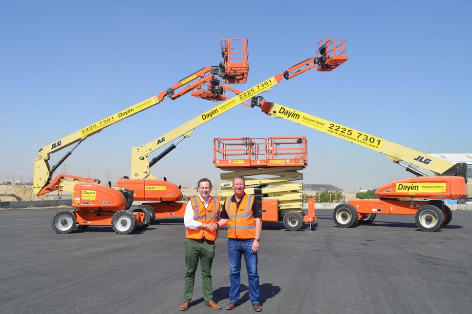 77 JLG platforms have been sold in Kuwait.