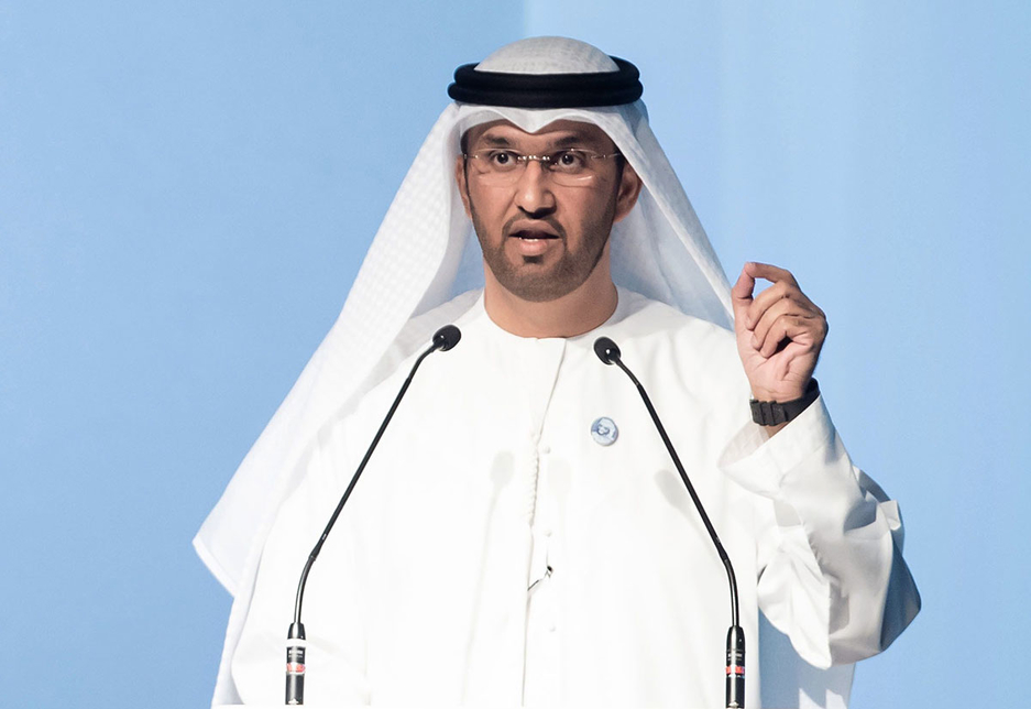 Dr Sultan Ahmed Al Jaber is CEO of Adnoc.
