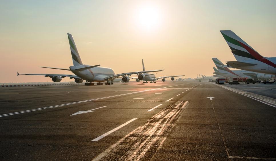 Dubai's DXB is a world record-setting aviation hub.