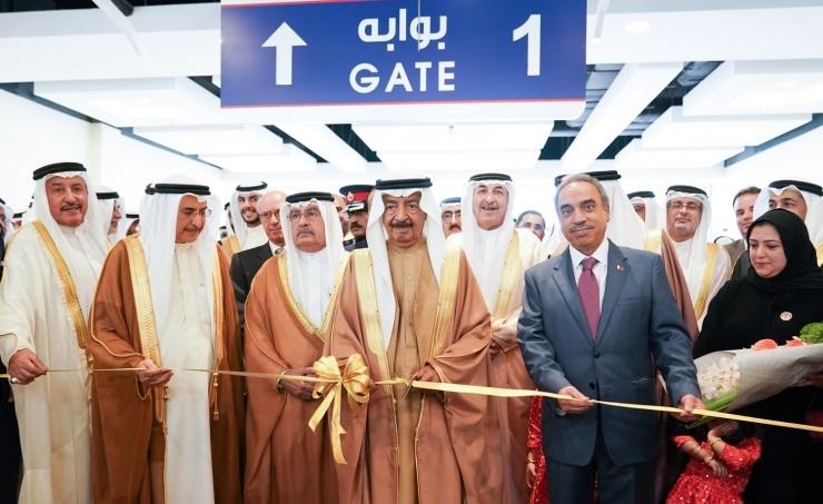 Bahrain's Premier opens Muharraq Central Market.