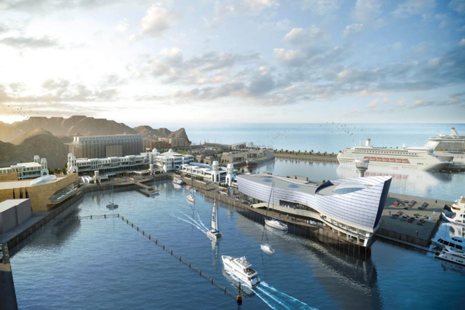 Mina Al Sultan Qaboos is an Omani megaproject.