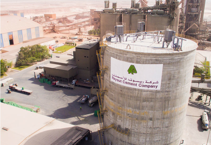 Raysut Cement Co is listed on the Muscat bourse.