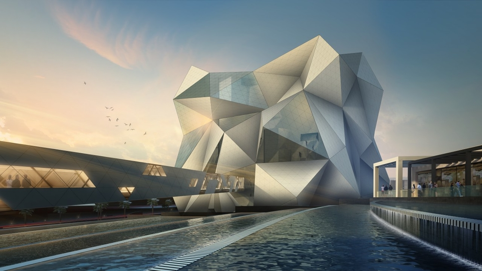 Miral's Clymb will open in Abu Dhabi next year.
