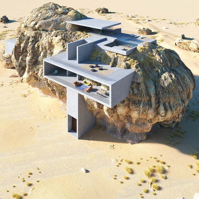 Amey Kandalgaonkar has designed the home.