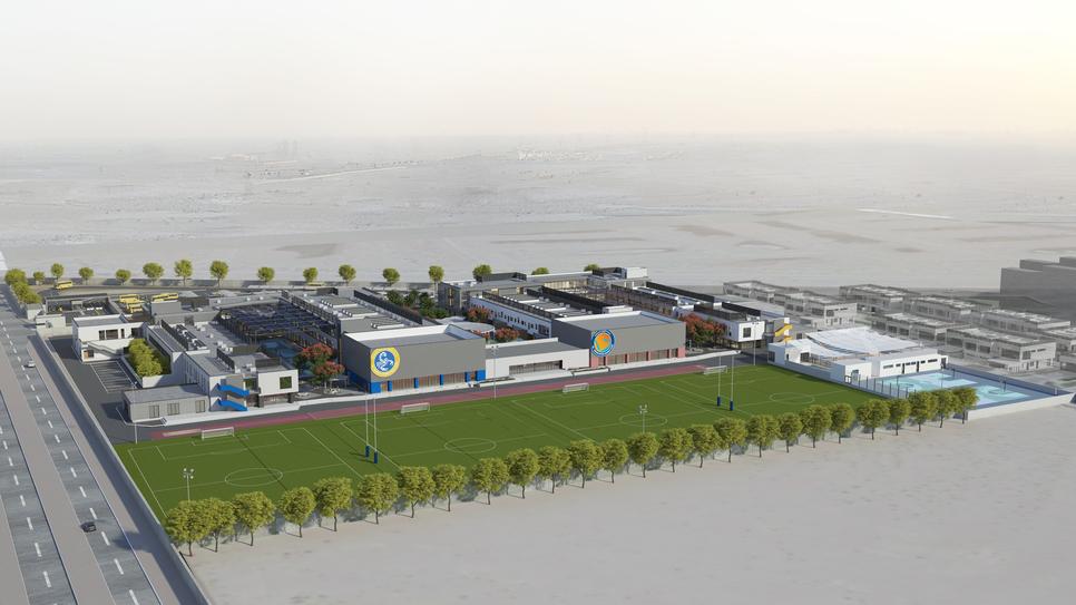 Gaj designed the Saudi school campus.