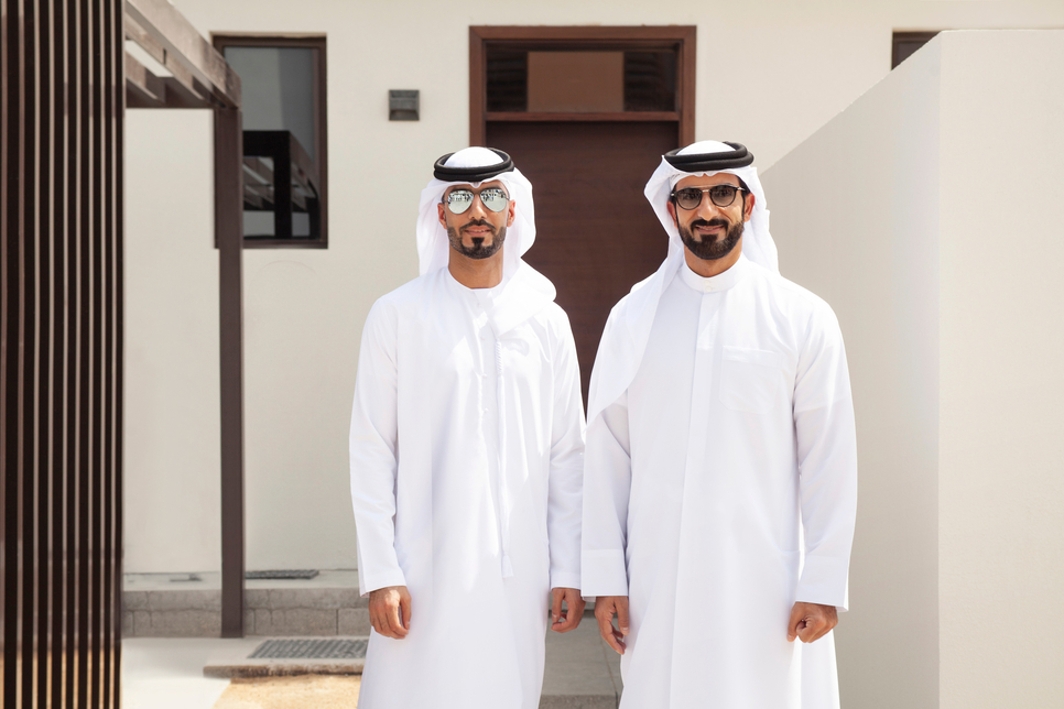 Arada chairman HE Sheikh Sultan bin Ahmed Al Qasimi (right).