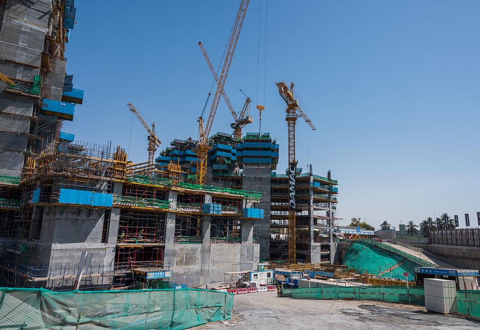 CSCEC ME is building Damac's megaproject.