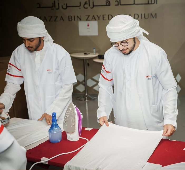 ServeU is working with Emirates Foundation.