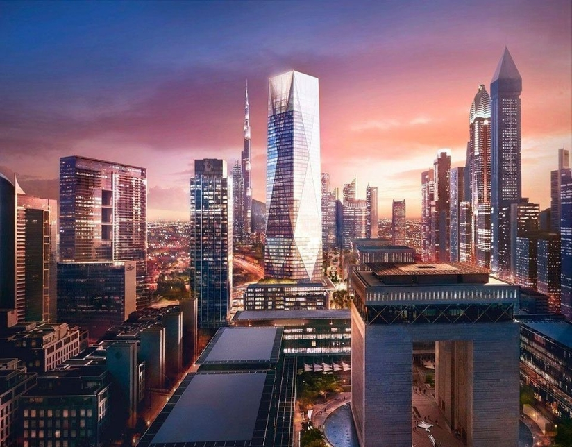 The 54-floor ICD Brookfield Place is located in DIFC.