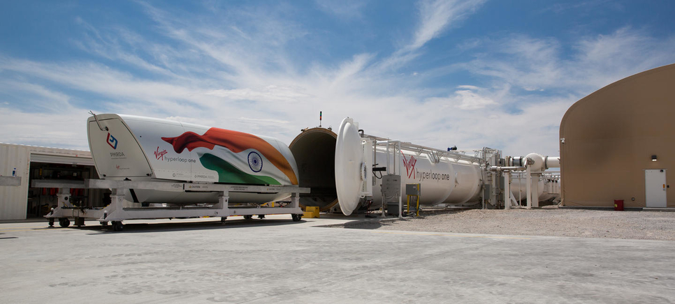 Hyperloop One is set to build a network in India.