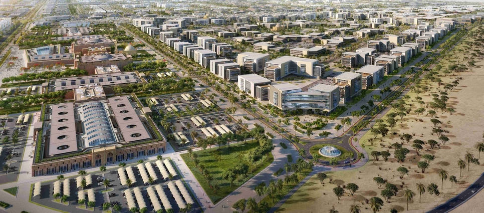 Oman's Khazaen economic city spans 52km2.