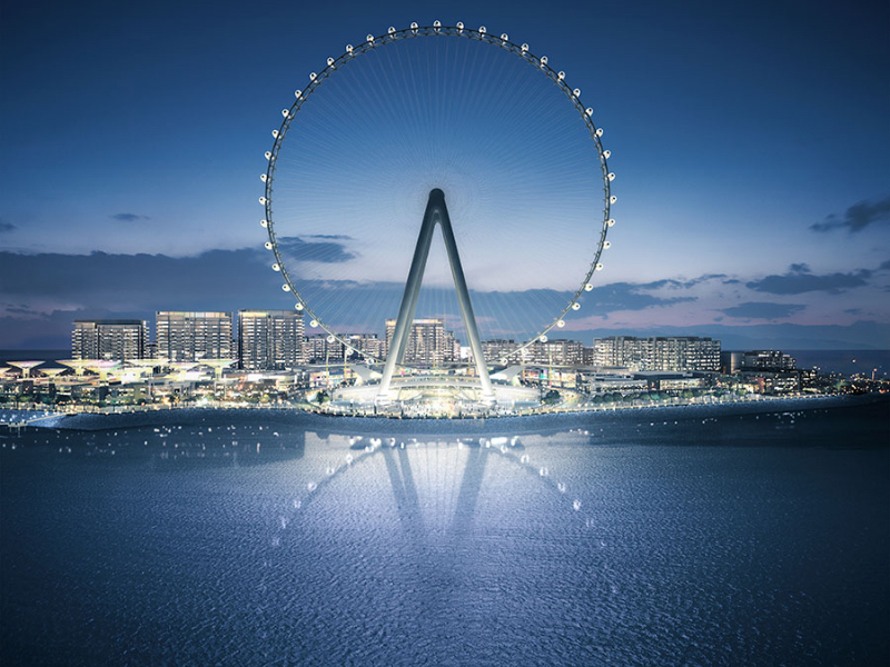 Ain Dubai will open in time for Expo 2020.