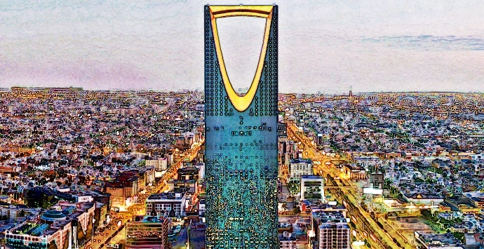 Infrastructure is a priority in Saudi Arabia.