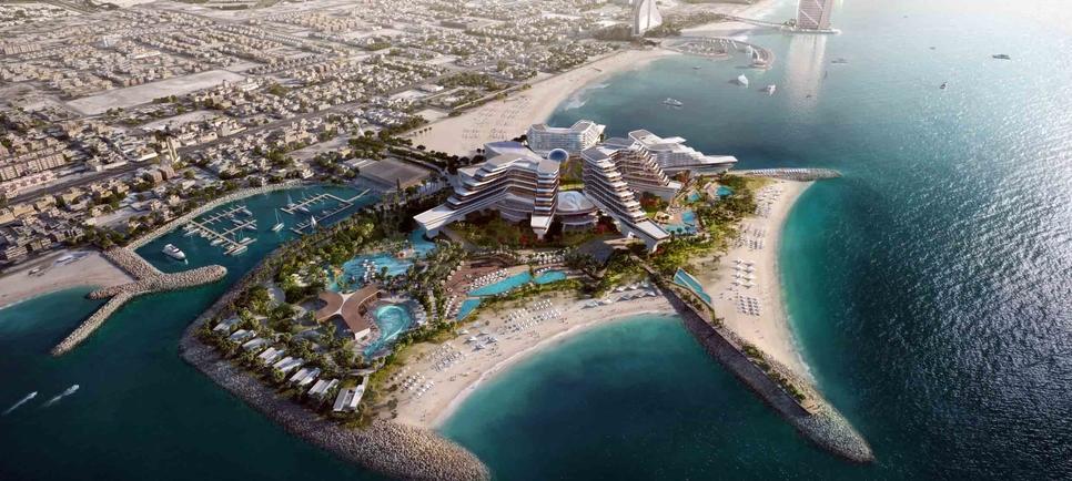 BSBG is working on The Island in Dubai.