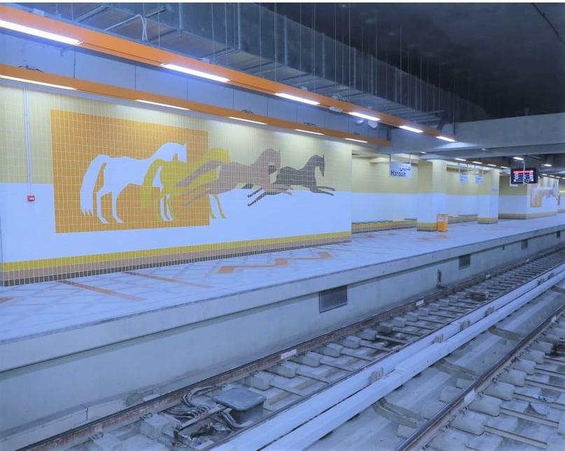 Cairo Metro's Line 3 has noted construction progress.
