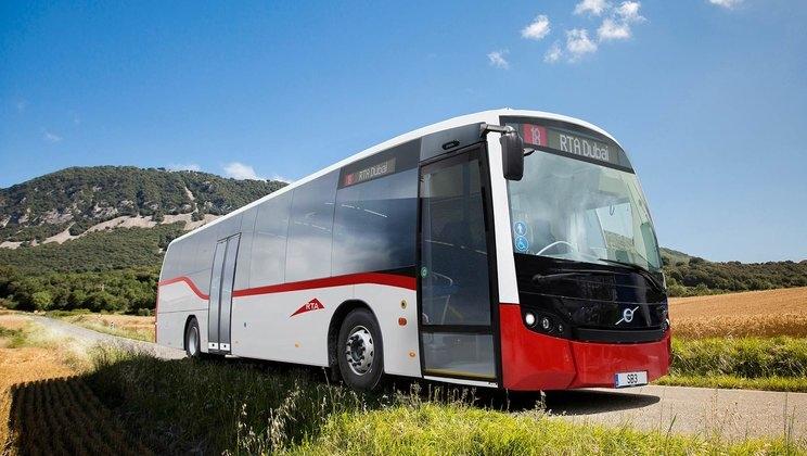 RTA has procured 373 Volvo buses.