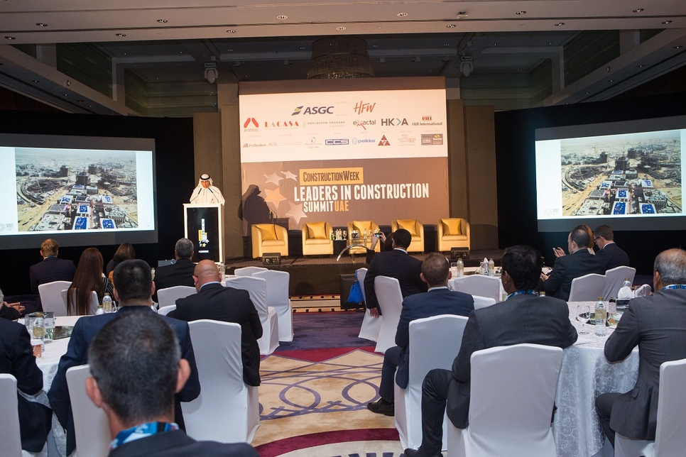 The Leaders in Construction UAE Summi 2019 has kicked off.