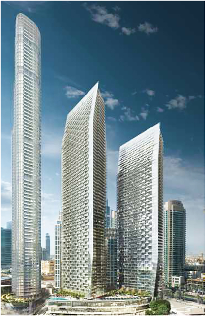 Emaar's Address Residences is situated in Opera District.