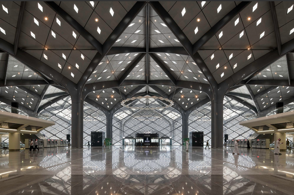 Foster + Partners designed the Haramain Rail stations.