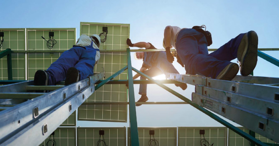 Irena says renewable jobs are on the up.