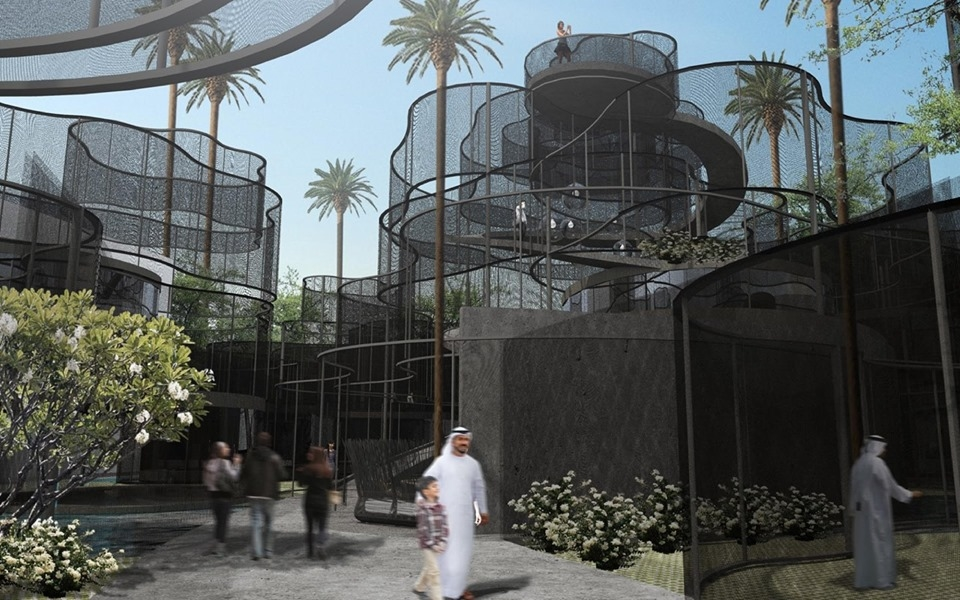 The pavilion will be located in Sustainability District.