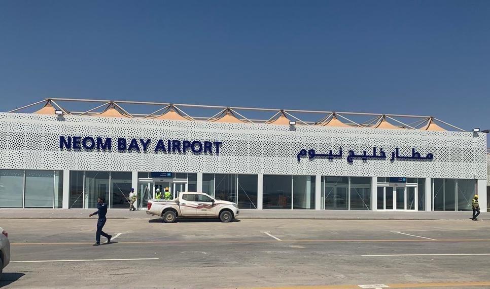 Saudia is operating at Neom Bay Airport.
