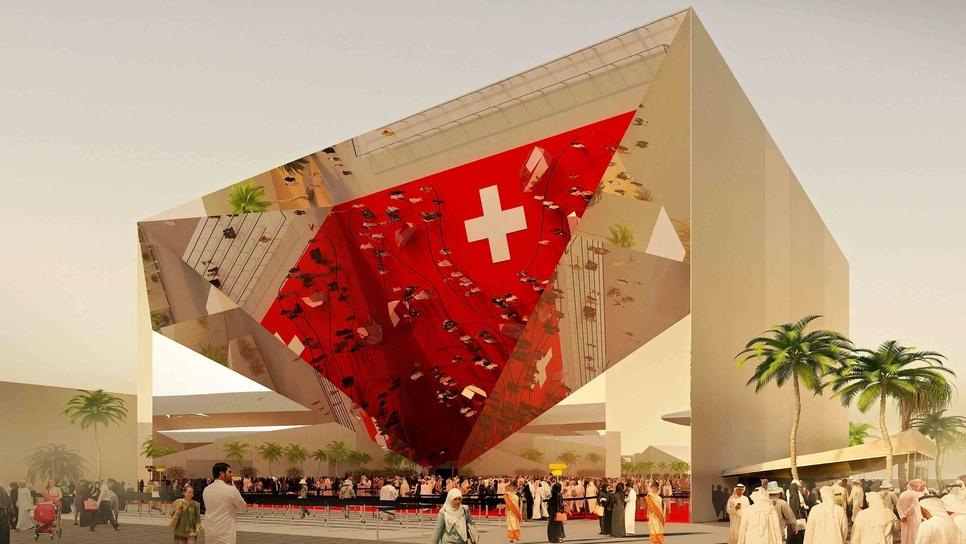 Expo 2020 Dubai's Swiss pavilion is named Belle Vues.