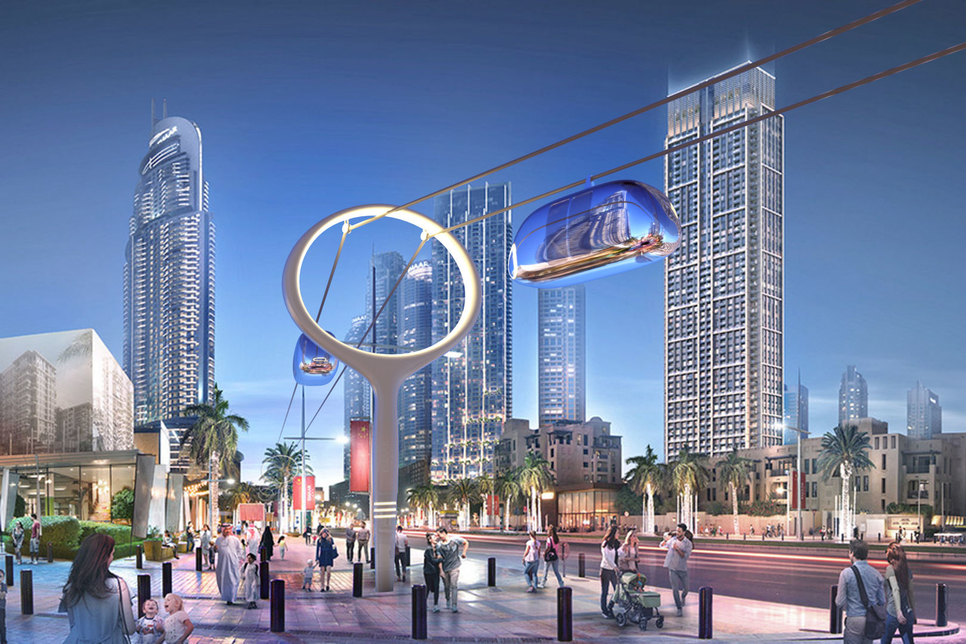 RTA is developing Dubai's Skypods.