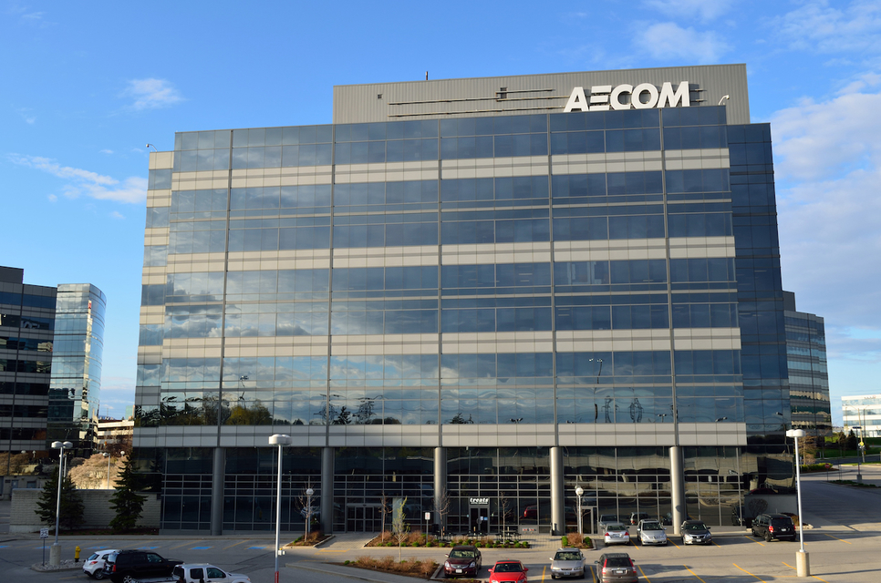 Aecom is an American engineering giant.