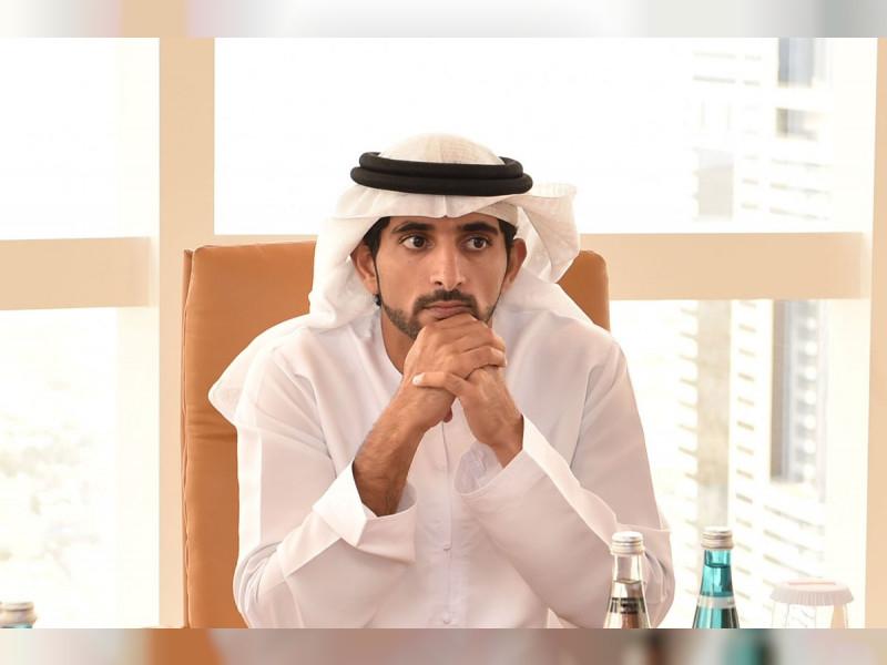 HH Sheikh Hamdan bin Mohammed bin Rashid Al Maktoum.