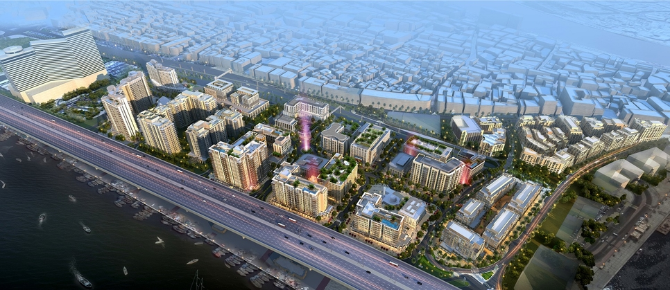 Deira Enrichment Project is being built by Ithra Dubai.
