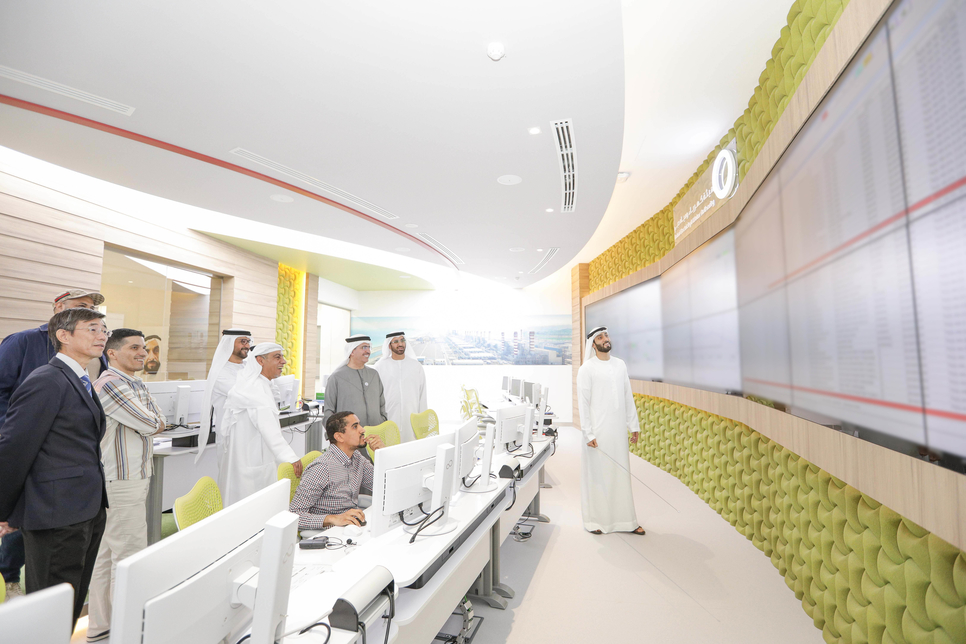 Dewa and Siemens have opened the Dubai project.
