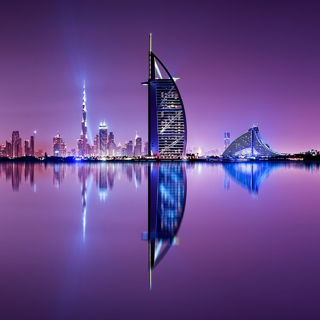 Dubai leads Middle East hotel construction.
