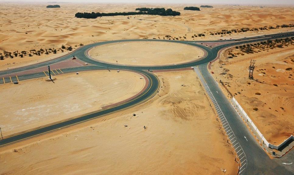 Musanada and ITC have upgraded Al Maqtara-Hamim road.