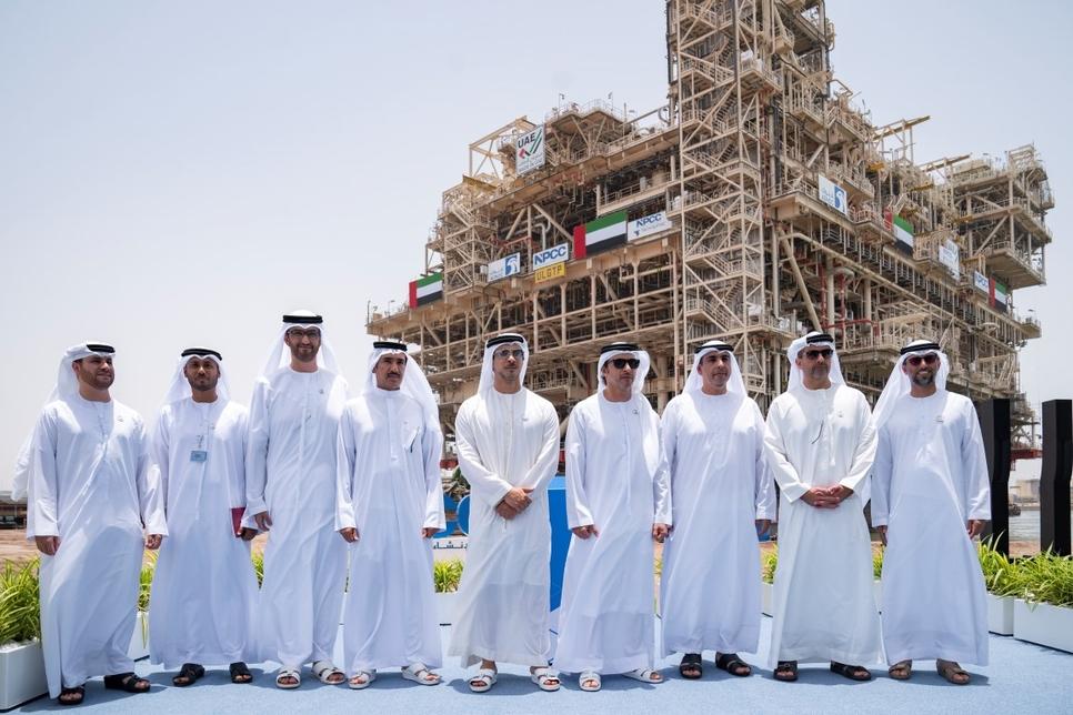 Adnoc's NPCC-built ULGTP has opened in Abu Dhabi.