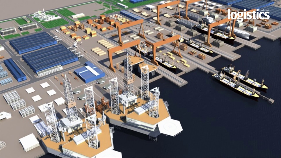 IMI is a JV of Saudi Aramco, Lamprell, Bahri, and HHI.