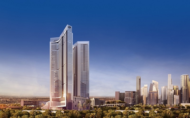 DAMAC is developing Aykon City in Dubai.