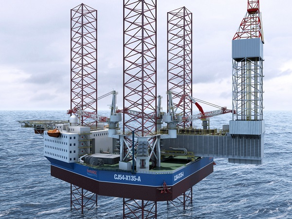 Halliburton will deliver two jack-up rigs in Kuwait [representational].
