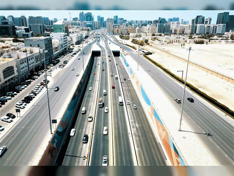 Musanada is building roads in Abu Dhabi.