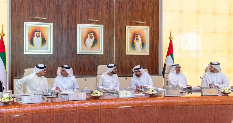 HH Sheikh Mohammed chaired the UAE Cabinet.